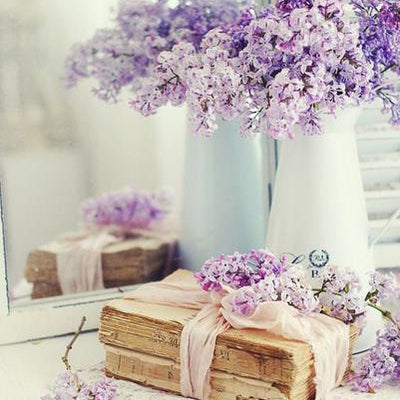 Baby Breath Bush Artificial Silk Flowers - Lavender