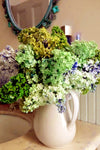 Baby Breath Bush Artificial Silk Flowers - Lime
