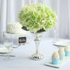 Hydrangea Bush Artificial Silk Flowers - Lime Green