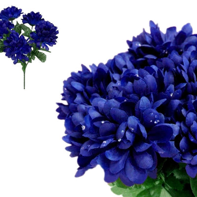 84 silk chrysanthemum navy blue silk flowers factory 84 artificial navy blue silk chrysanthemum flowers wedding bridal bouquet vase decoration mightylinksfo