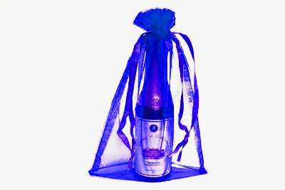 6X9 Royal Blue Organza Bags-10/pk