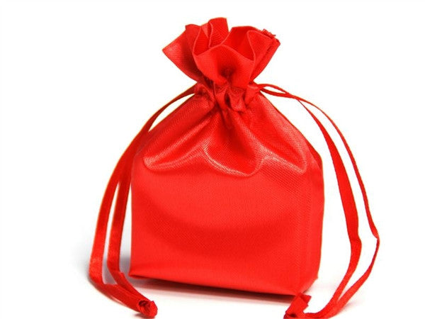 3X4 Red Satin Bags-dz/pk