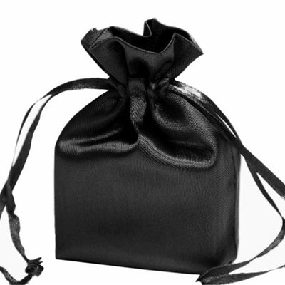 4X6 Black Satin Bags-dz/pk