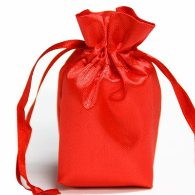 6x9 Red Satin Bags-dz/pk