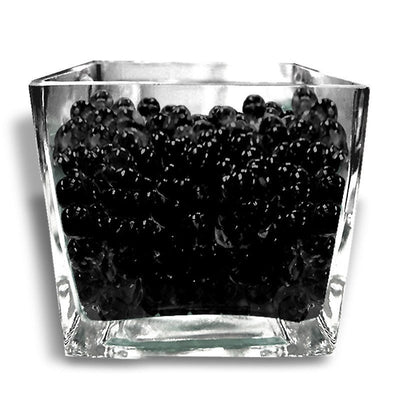 14grams Black BIG Round Deco Water Beads Jelly Vase Filler Balls For Centerpieces Table Decoration