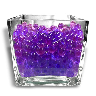 14grams Purple BIG Round Deco Water Beads Jelly Vase Filler Balls For Centerpieces Table Decoration