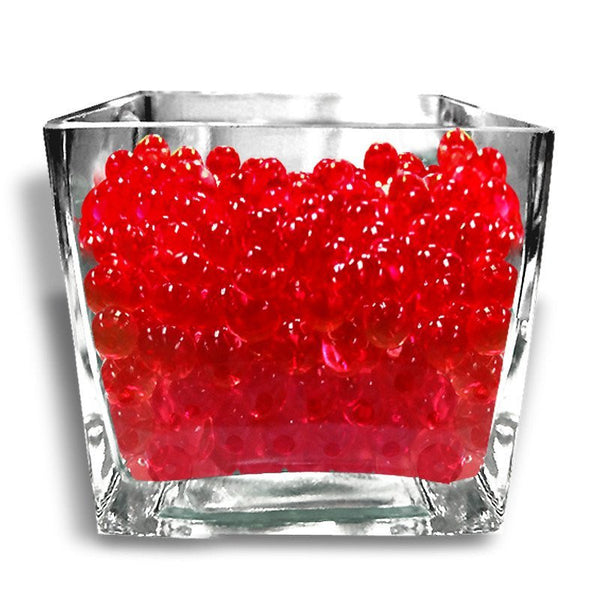 14grams Red BIG Round Deco Water Beads Jelly Vase Filler Balls For Centerpieces Table Decoration