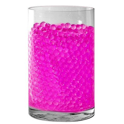 Pink Small Round Deco Water Beads Jelly Vase Filler Balls For