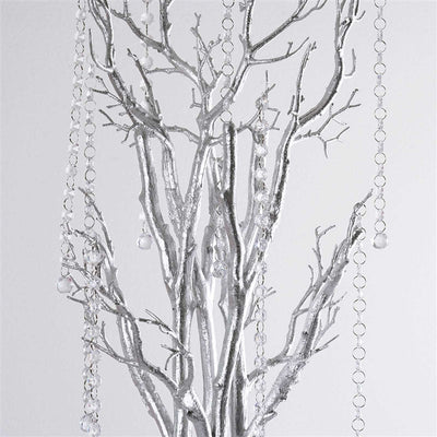 "32"" Vogue Manzanita Centerpiece Tree - Silver( Sold Out )"