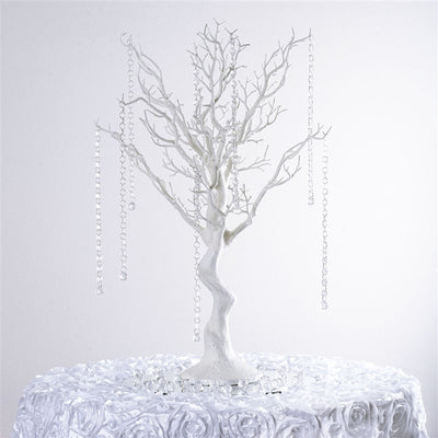 "30"" Vogue Manzanita Centerpiece Tree - White"