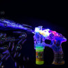LED Wedding Bubble Machine Gun With Flashing Sound Birthday Party Favor