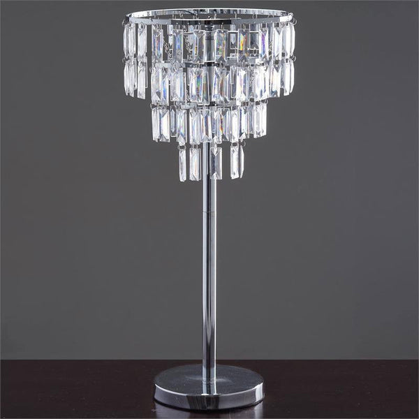 "Wedding Versatile Acrylic Diamond Chandelier Centerpiece - 12"" Drop+Chandelier Stand 22"" Tall"