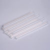 10 pcs Clear Glitter Hot Melt Glue Sticks For DIY Art Craft Sealing Repair Tool - 7mm x 4""