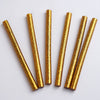 10 pcs Gold Glitter Hot Melt Glue Sticks For DIY Art Craft Sealing Repair Tool - 7mm x 4""