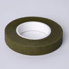 "1/2"" x 90 FT Olive Green Floral Tape for Stem Wrap Flower Bouquet - Buy One Get One Free"