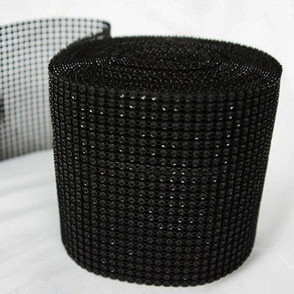 "PAR EXCELLENCE Endless Diamond Roll 4.5""x10 yards/roll Black Ver. 2"