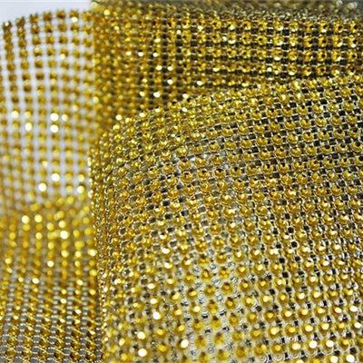 "PAR EXCELLENCE Endless Diamond Roll 4.5""x10 yards/roll Gold"