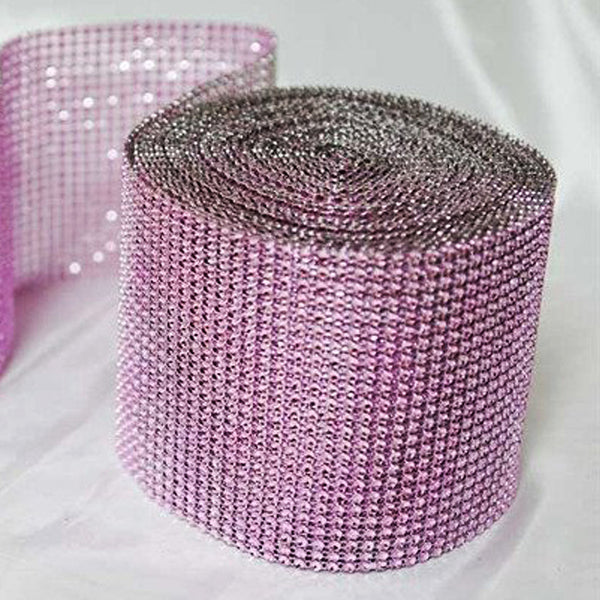 "PAR EXCELLENCE Endless Diamond Roll 4.5""x10 yards/roll Pink"
