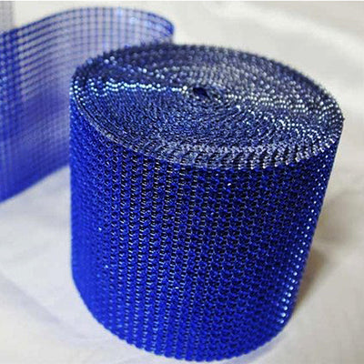 "PAR EXCELLENCE Endless Diamond Roll 4.5""x10 yards/roll Royal Blue"