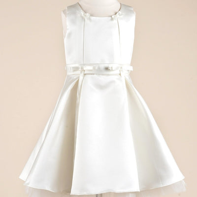 Spectacular taffeta silk flower girl dress white efavormart spectacular taffeta silk flower girl dress white mightylinksfo