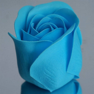 Scented Rose Soap Gift Box - Turquoise