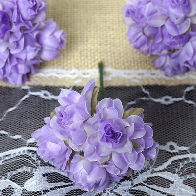 72 ITS A BEAUTIFUL LIFE Semi-Bloomed Craft Roses - Lavender