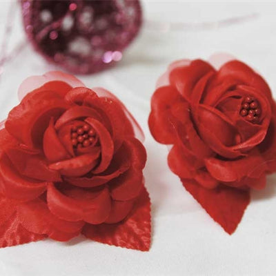 12 accent bellissimo craft roses red silk flowers factory 12pcs red mini satin ribbon rose flower pearl spray wedding appliques sewing decor craft supplies mightylinksfo