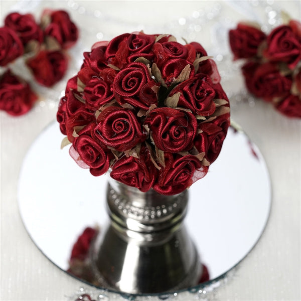 72 EXTRA HIGHLIGHTS Craft Roses - Burgundy