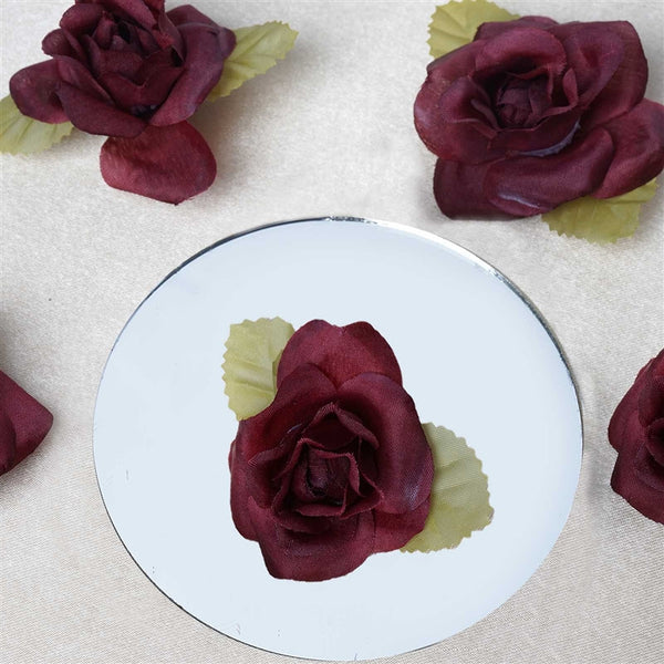 EXTRA TOUCH Craft Roses - 12/pk Burgundy