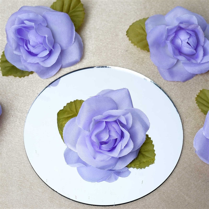 Extra touch craft roses 12pk lavender silk flowers factory extra touch craft roses 12pk lavender 12pcs lavender mini silk ribbon rose mightylinksfo