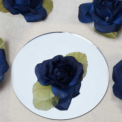 EXTRA TOUCH Craft Roses - 12/pk Navy