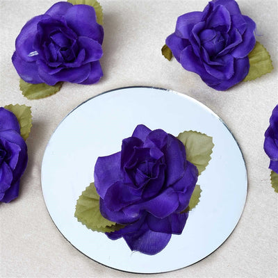 EXTRA TOUCH Craft Roses - 12/pk Purple