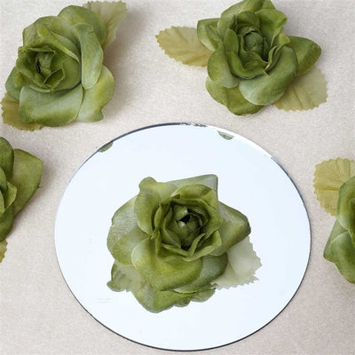 EXTRA TOUCH Craft Roses - 12/pk Sage