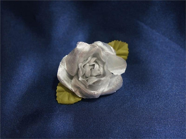 EXTRA TOUCH Craft Roses - 12/pk Silver