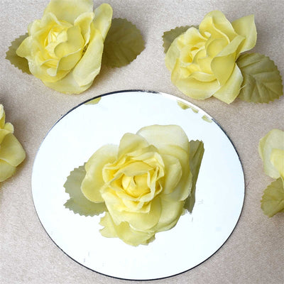 EXTRA TOUCH Craft Roses - 12/pk Yellow