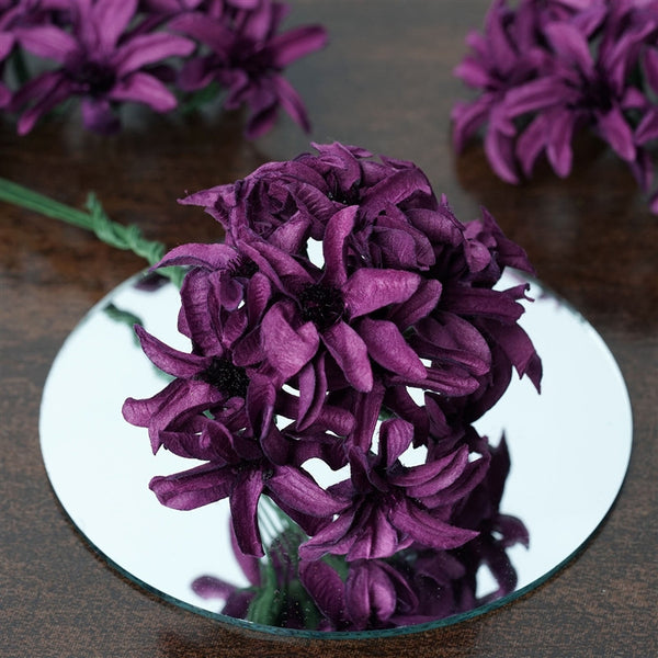 72 EXTRA HIGHLIGHTS Hybrid Craft Lilies - Eggplant
