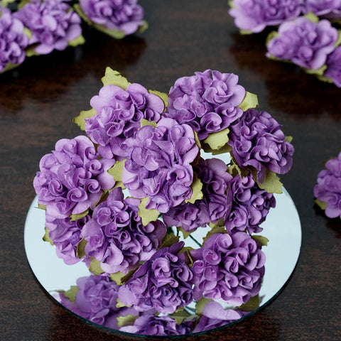 EXTRA TOUCH Craft Carnations-Lavender.72/pk