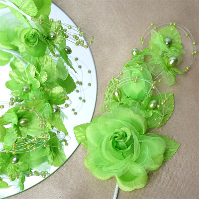 Headpiece-Apple Green-12/pk