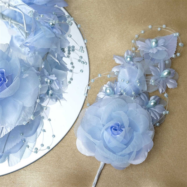 Headpiece-Baby Blue-12/pk