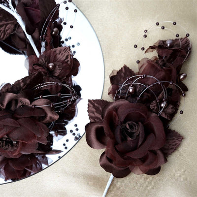 Headpiece-Chocolate-12/pk