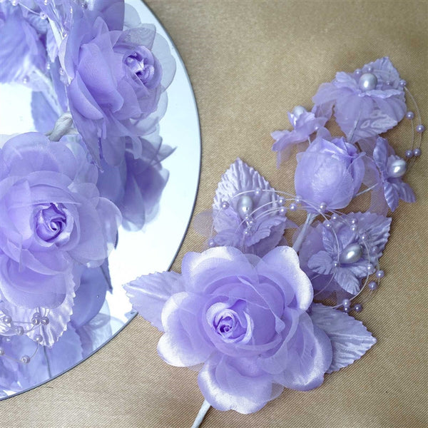 Headpiece-Lavender-12/pk