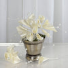72 Ivory Artificial Floral Calla Lily Bead Flowers Wedding Home Craft Decor
