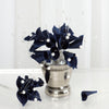 72 Navy Artificial Floral Calla Lily Bead Flowers Wedding Home Craft Decor