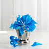 72 Turquoise Artificial Floral Calla Lily Bead Flowers Wedding Home Craft Decor