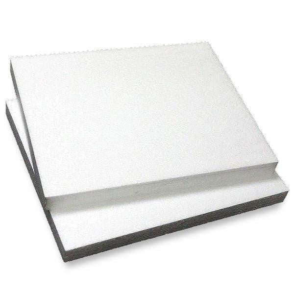 "12""x15"" Wholesale White Styrofoam Foam Rectangle Flats DIY Crafts Decoration - 6 pcs"