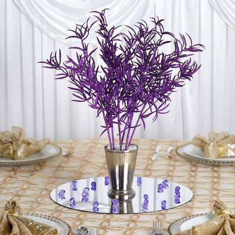 12 Showcase Glitter Stems - Purple( Sold Out)