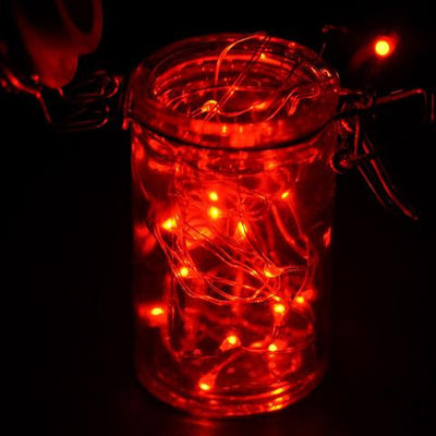 6FT Wholesale Red Wedding Party Decor Outdoor LED Light Lamp Fairy Strings