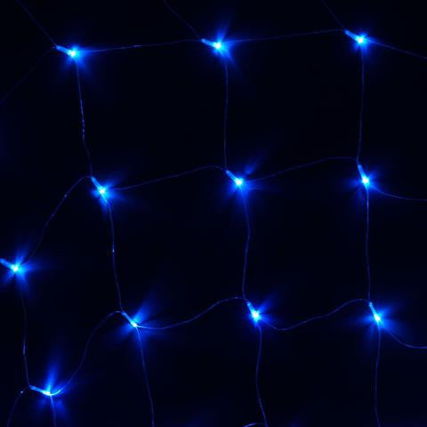 20ft x 10ft Twinkle In The Night LED Lights for Backdrops - Blue