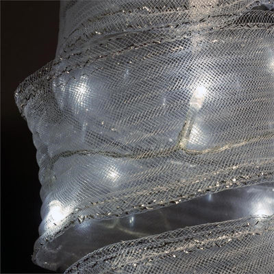Radical Ribbon Mesh LED Lights - White