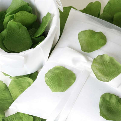 500 Silk Rose Petals For Wedding Party Table Confetti Decoration - Willow